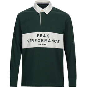 Peak Performance M's Rugby LS Shirt Pine Grove